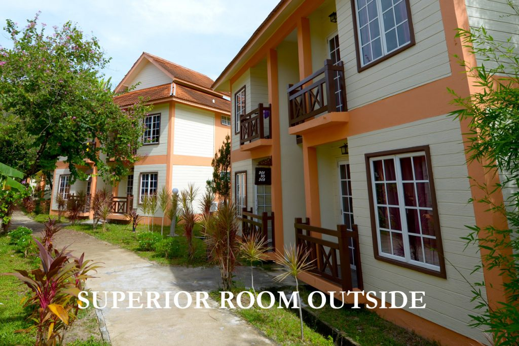 outside superior room